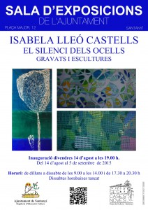 CARTELL EXPO ISABELLA LLEO