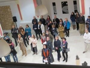 Publico escuchando el concierto durante la inauguracion